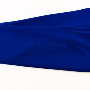 Chiffon Plain Royal Blue 3
