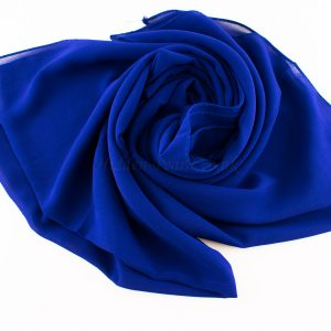 Chiffon Plain Royal Blue