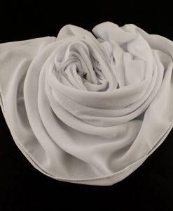 Chiffon Plain White