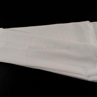 Chiffon Plain White 3