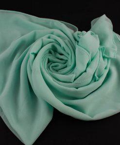 Chiffon hijab Mint 8