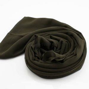 Everyday Chiffon Hijab Army Green 2