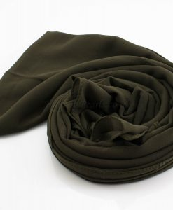 Everyday Chiffon Hijab Army Green