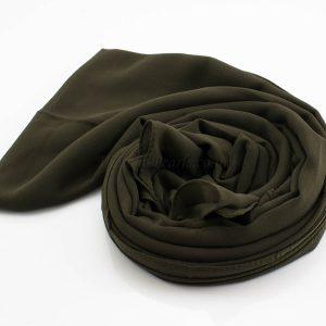 Everyday Chiffon Hijab Army Green