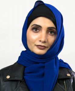 Everyday Chiffon Hijab - Royal Blue