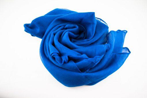 Everyday Plain Hijab Royal Blue 4