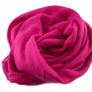 Everyday Plain Hijab Shocking Pink 2