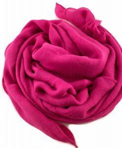 Everyday Plain Hijab Shocking Pink 3