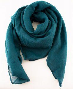 Everyday Plain Hijab Teal Blue 2