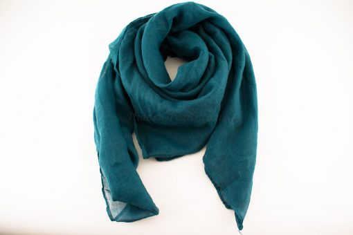 Everyday Plain Hijab Teal Blue 2