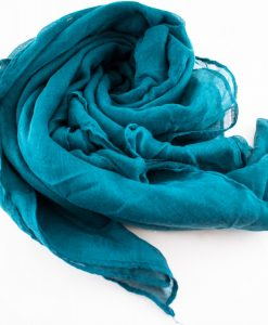 Everyday Plain Hijab Teal Blue 3