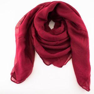Everyday Plain Hijab Red 2
