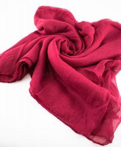 Everyday Plain Hijab Red 3