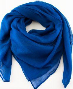 Everyday Plain Hijab Royal Blue 2