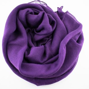 Everyday Plain Hijab Violet 2