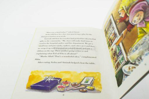 Eid Gift Box - Amina and Ayisha Eid Gifts Inside - Hidden Pearls