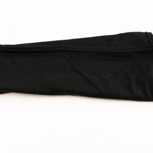 Jersey Plain Black Hijab