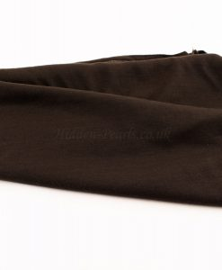 Jersey Plain Chocolate Hijab