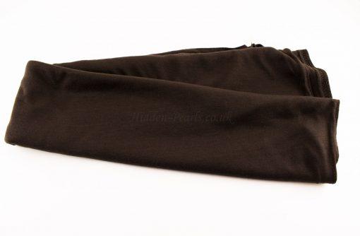 Jersey Plain Chocolate Hijab