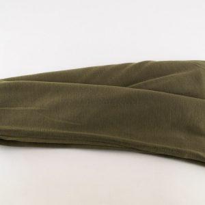 Jersey Plain Olive Hijab 2