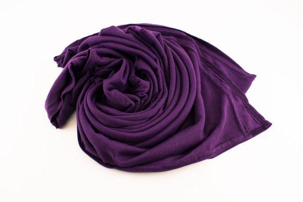 Jersey Plain Purple 2