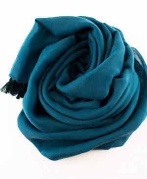 Tassels Teal Hijab 5