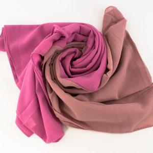 Fusion Chiffon Scarf Pink & Spanish Pink 8