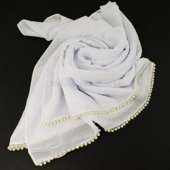 Limited Edition Pearl Pearl Chiffon White 3