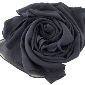 Deluxe chiffon Midnight blue 2