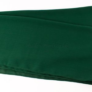 Deluxe chiffon forest green 4