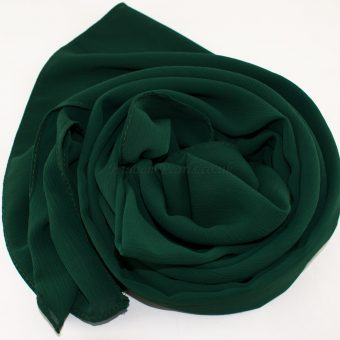 Deluxe chiffon forest green 9