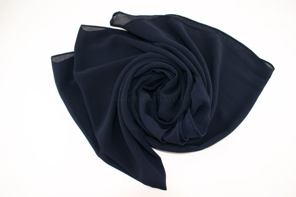 Deluxe chiffon midnight Blue