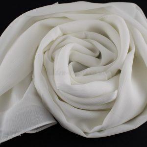 Deluxe chiffon white 7