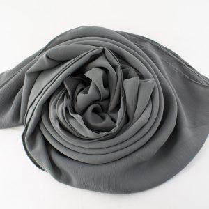 Deluxe chiffon grey 10
