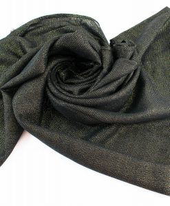 Occasion Shimmer Hijab Black 3