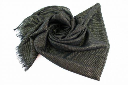 Occasion Shimmer Hijab Black 3
