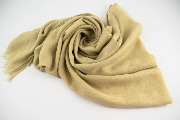 Occasion Shimmer Hijab Gold.3
