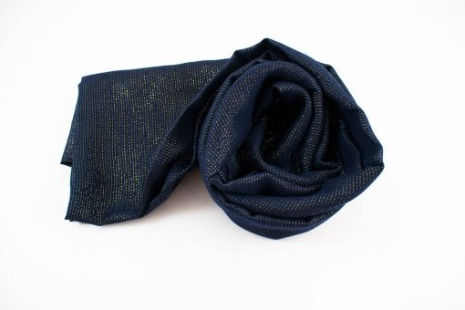 Occasion Shimmer Hijab Midnight Blue 3