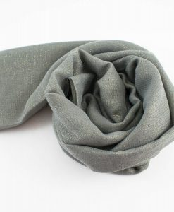 Occasion Shimmer Hijab Silver 2