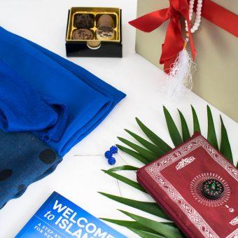 Welcome To Islam Gift Box - Muslim Reverts Gift Box - Islamic Gifts - Hidden Pearls