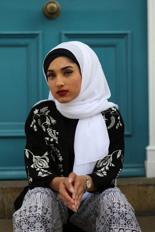 Chiffon White Hijab_4792 copy