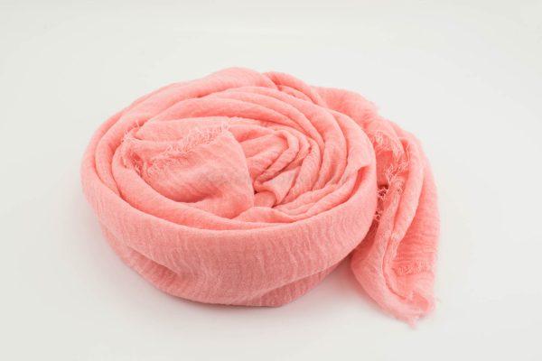 Crimp Hijab - Baby Pink 2- Hidden Pearls