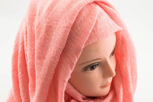 Crimp Hijab - Baby Pink - Hidden Pearls