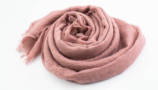 Crimp Hijab - Dusty Pink - Hidden Pearls
