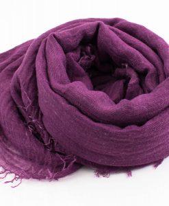 Crimp Hijab - Purple - Hidden Pearls