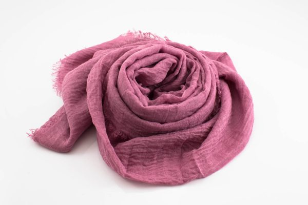 Crimp Hijab - Spanish Pink 2 - Hidden Pearls