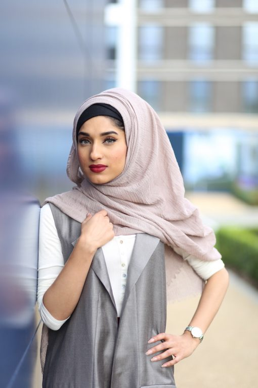 Crimp Hijab Stone - Hidden Pearls