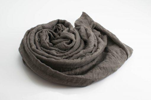 Crimp Hijab - Taupe Grey - Hidden Pearls