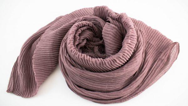 Crinkle Hijab Dusty Pink