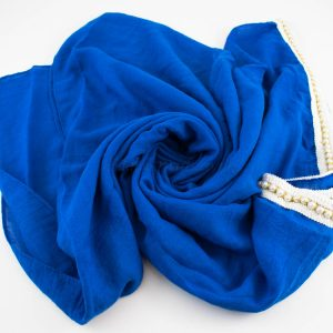 Pearl & Lace Hijab Royal Blue